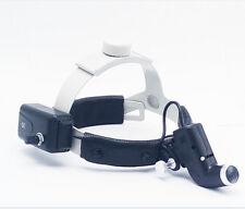 Dental LED Surgical Headlight Good Light Spot Headband ENT Specific DY-002 Black