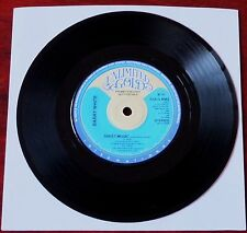 """BARRY WHITE SHEET MUSIC PROMO 7"""" UNLIMITED GOLD (1980) NM ENGLAND"""