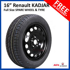 "Renault Kadjar 2015 - 2017 FULL SIZE STEEL SPARE WHEEL 16""  AND TYRE 215/65R16"