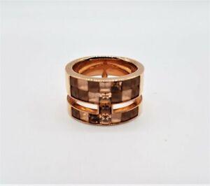 Atelier Swarovski by Viktor & Rolf Goldtone & Glass Ring Size 7.5 LB161