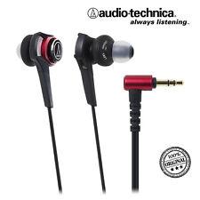 Audio Technica ath-cks990 Rouge Casque In-Ear Headphone Earphone, nombreux accessoires
