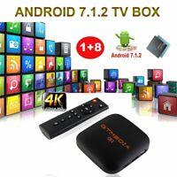 GTMEDIA G1 4K Android Smart TV Box Quad Core 1+ 8GB ROM Médias HDMI WIFI 3D,DHL