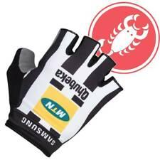 Castelli MTN Qhubeka Roubaix Gloves All Sizes NEW : FREE Shipping