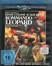 Commando Leopard Blu Ray Ascot Elite Antonio Margheriti Klaus Kinski