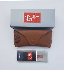 Ray Ban Brown Sunglasses Case New