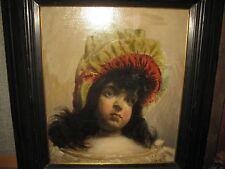 ARMAND, XIX. Siècle De musée Portrait de jeune fille