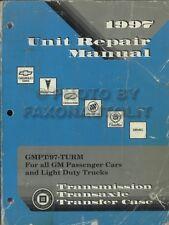 1997 GM Transmission Rebuild Book Automatic and Manual Overhaul Car Truck Repair