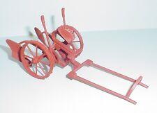 Farm Plow Rusty Miniature 1/24 Scale G Scale Diorama Accessory Item