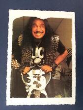 . AD / fait main carte de voeux avec Gene Simmons, kiss