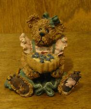 Boyds Bearstones #2254 Bailey...The Baker w/ Sweetie Pie, NIB From Retail Store