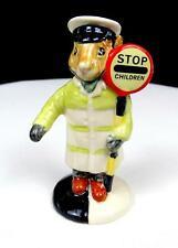 "Royal Doulton #Db65 Crossing Guard Lollipopman 3 5/8"" Bunnykins Figurine 1988"