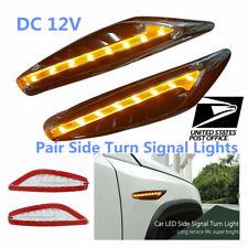 12V Yellow Turn Signal Night Lights Car Steering Light Fender Light Universal #
