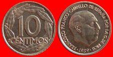 10 CENTIMOS FRANCO 1959 ESPAÑA SC DE BOLSA