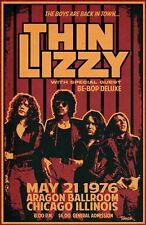 Thin Lizzy Tour Poster