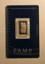 2.5 gram Pamp Suisse Platinum Bar (in Assay)