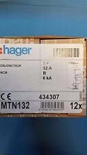 HAGER MTN132 MCB MTN RANGE SINGLE PHASE 32amp