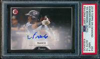 WANDER FRANCO AUTO 2019 Topps On-Demand 1955 Bowman Autograph RC PSA 9/10 MINT