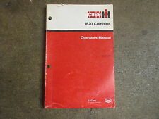 Case International 1620 combine owners & maintenance manual