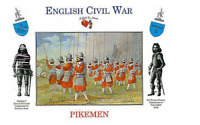 A Call To Arms English Civil War Pikemen Plastic Soldier 1:32