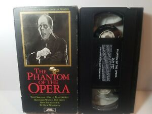 Phantom Of The Opera VHS 1925 Original Silent  Colorized W New Soundtrack Chaney