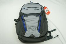 The North Face TNF Surge Backpack Heather Gray 15.5in Laptop Bag 31 Liter NWT