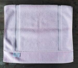 Restoration Hardware Pale Pink Cotton Bath Mat