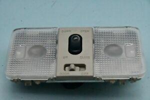 ✅ 2003-2005 Infiniti Fx35 Fx45 Overhead Console Dome Light w/ Sunroof Switch OEM