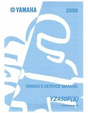 manuals literature in brand floating yes placement on vehicle rh ebay com 2004 Yamaha YZ450F Specs 2004 YZ 450F