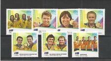 Australie 2012 médaillés d'or london sg, 3820-3826 u/mm n/h lot 2973A