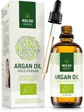 Arganöl Bio aus Marokko 100% kaltgepresst rein für Nägel Gesicht Haut und Haare