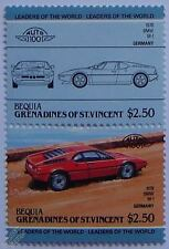 1978 BMW M-1 Car Stamps (Leaders of the World / Auto 100)