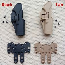 Tactical Airsoft Gun Right Hand Holster Belts for GLOCK 17 18 19 22 23 31