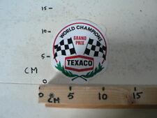 STICKER,DECAL TEXACO WORLD CHAMPIONS GRAND PRIX FINISH FLAG F1 FORMULA ONE ? A