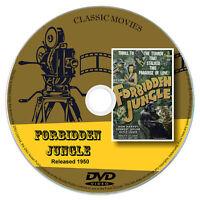 Forbidden Jungle 1950 Classic DVD Film - Action, Adventure, Drama