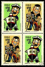 CHILE, TRADITIONAL CRAFTS , PEANUT VENDOR AND PHOTOGRAPHER, MNH, YEAR 200