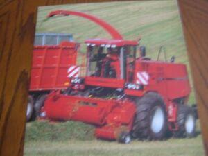 Case I.H Forage Harvester Brochure. RARE. MINT. 1997