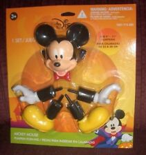 "New Disney Mickey Mouse Halloween Pumpkin push-ins for 9"" - 11"" pumpkins Gemmy"