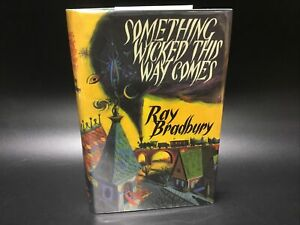 SIGNED NUMBERED Something Wicked This Way Comes - Ray Bradbury [Gauntlet 1999]