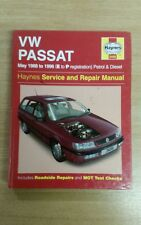 VW PASSAT 1988-1996 HAYNES WORKSHOP MANUAL 3498 IN A GREAT CLEAN COND FREE P&P
