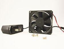 80mm 25mm Case Fan Kit 110V 115V 120V AC 64CFM Ball Brg PC Cooling 8025 1306*