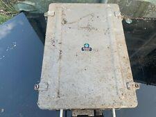 VINATAGE PYE MARCONI MARINE HARBAFONE 15 MILITARY NAVY BOAT SHIP RADIO HARBOR