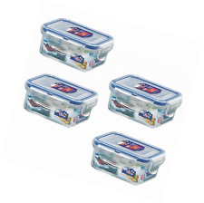 Lock and Lock, No BPA, Water Tight, Food Container, 0.7-cup, 0.6-oz, Pack Of 4,