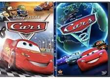 2DVD SET CARS 1 & CARS 2 *** BRAND NEW SEALED FREE SHIPPING CHILDREN*ANIMATION