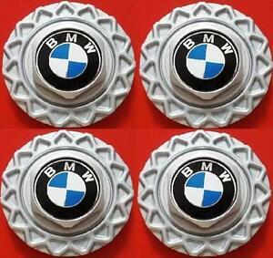 """FOUR (4) 1984-1991 BMW BBS 14"""" Wheel Center Hub Caps STYL.5 E30 318i 325e 325i"""