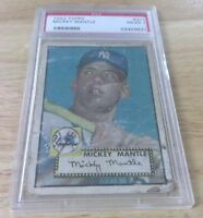 1952 TOPPS #311 MICKEY MANTLE ROOKIE CARD RC HOFER NEW YORK YANKEES #7 PSA 1 P-F