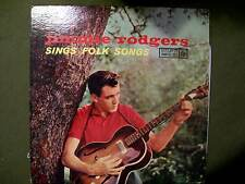 JIMMIE RODGERS SINGS FOLK SONGS ROULETTE R-25042 LP 33 1/3