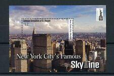 Canouan Gren St Vincent 2016 estampillada sin montar o nunca montada ciudad de Nueva York NY2016 1v s/s Sellos