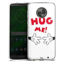 Lenovo MOTO g6 PLUS IN SILICONE GUSCIO Case Cellulare-HUG ME!