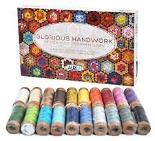 Aurifil Glorious Handwork Thread Set - 20 Small Spools of 80wt Cotton
