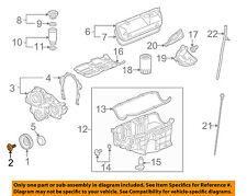 GM OEM Engine-Harmonic Balancer Bolt 11570965
